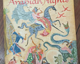 Golden Tales From the Arabian Nights (1957)- Vintage Children's Book