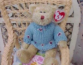 """Sweet Little Vintage Ty Teddy Bear: """"Skylar"""""""