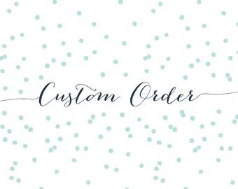 Custom Monogram Round