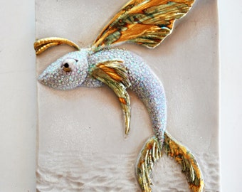 Fairy Fish wall plaque