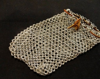 """Large """"GM Sized"""" Chainmail Dice Bag"""