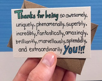 SALE! Awesomely You Mini Cards, 10 Pack