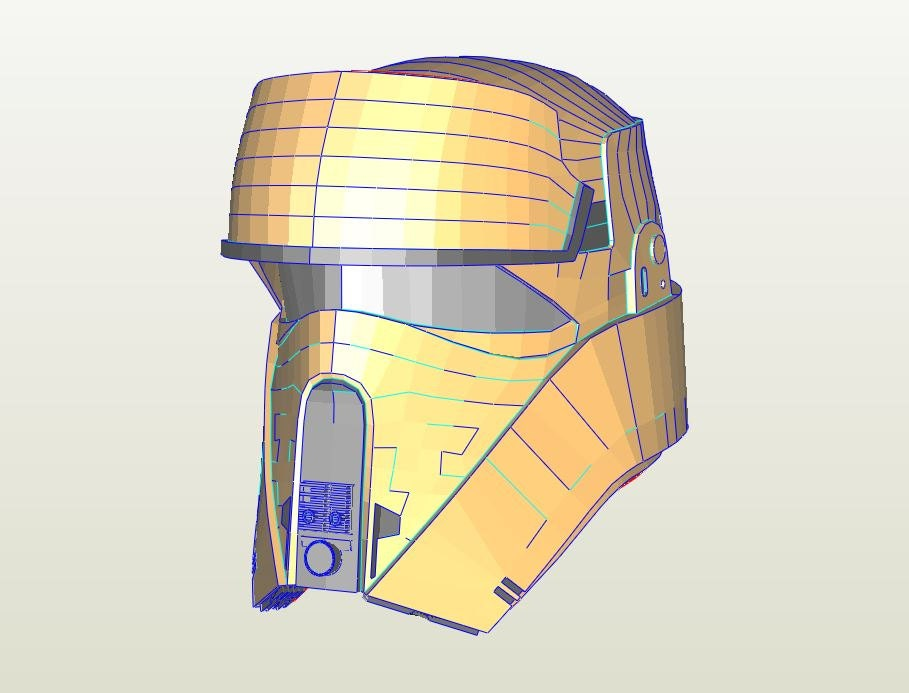 Star wars Pepakura file index