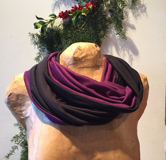 Rayon Blend Infinity Scarf