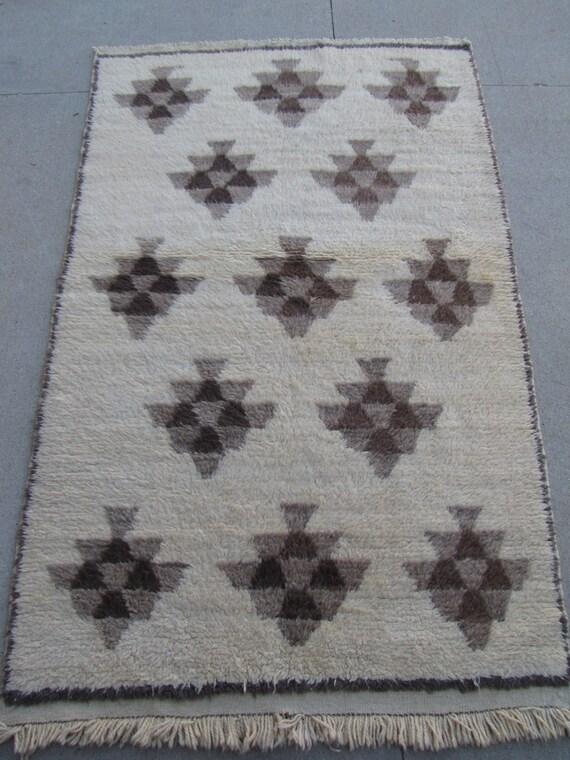 Vintage Anatolian Tulu Rug – 4'5 x 7'2 - Free shipping!