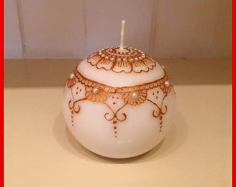 Gorgeous Henna Candle
