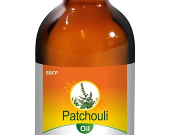 Patchouli Oil - Pure & Natural - 5 ml to 250 ml