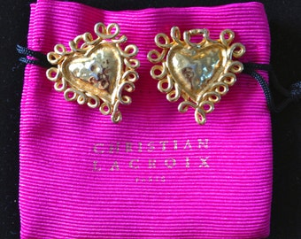 Christian Lacroix earrings clip