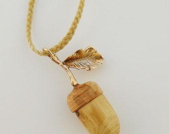 Acorn pendant