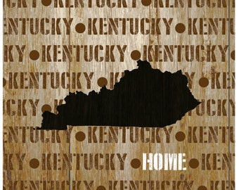 Home State Canvas Print