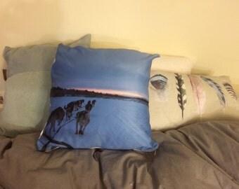 Unique Lapland Kiruna Sweden Pillow