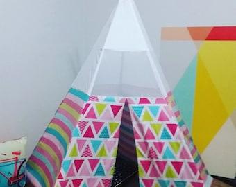 Pink Geometric teepee