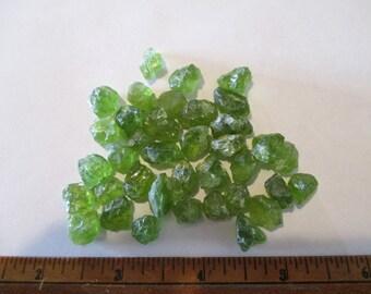 Arizona Peridot Gemstone Rough 228 cts
