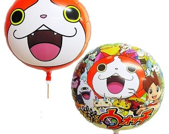 From Japan  ONE Yo-kai Watch party  BALLOON Japan Ver.  new Party supply 36cm