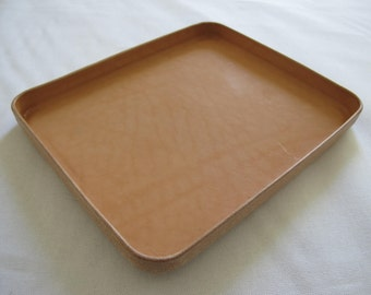 "Leather Tray ""L"""