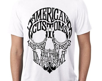 American Fighter AFFLICTION Men Motorcycle Club MMA UFC Gym