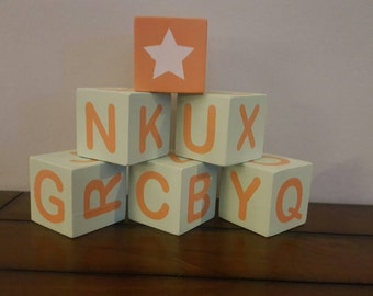Custom Baby Blocks / Baby Shower Present