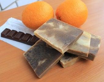 Organic soap Chocolate Sweet orange Bar soap Chocolate Sweet orange  Chocolate soap Sweet orange soap Natural soap