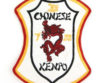 Chinese Kenpo Vintage Patch