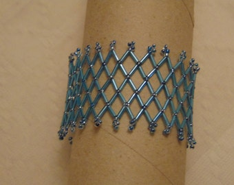 Lace Stretchy Beaded Bracelet