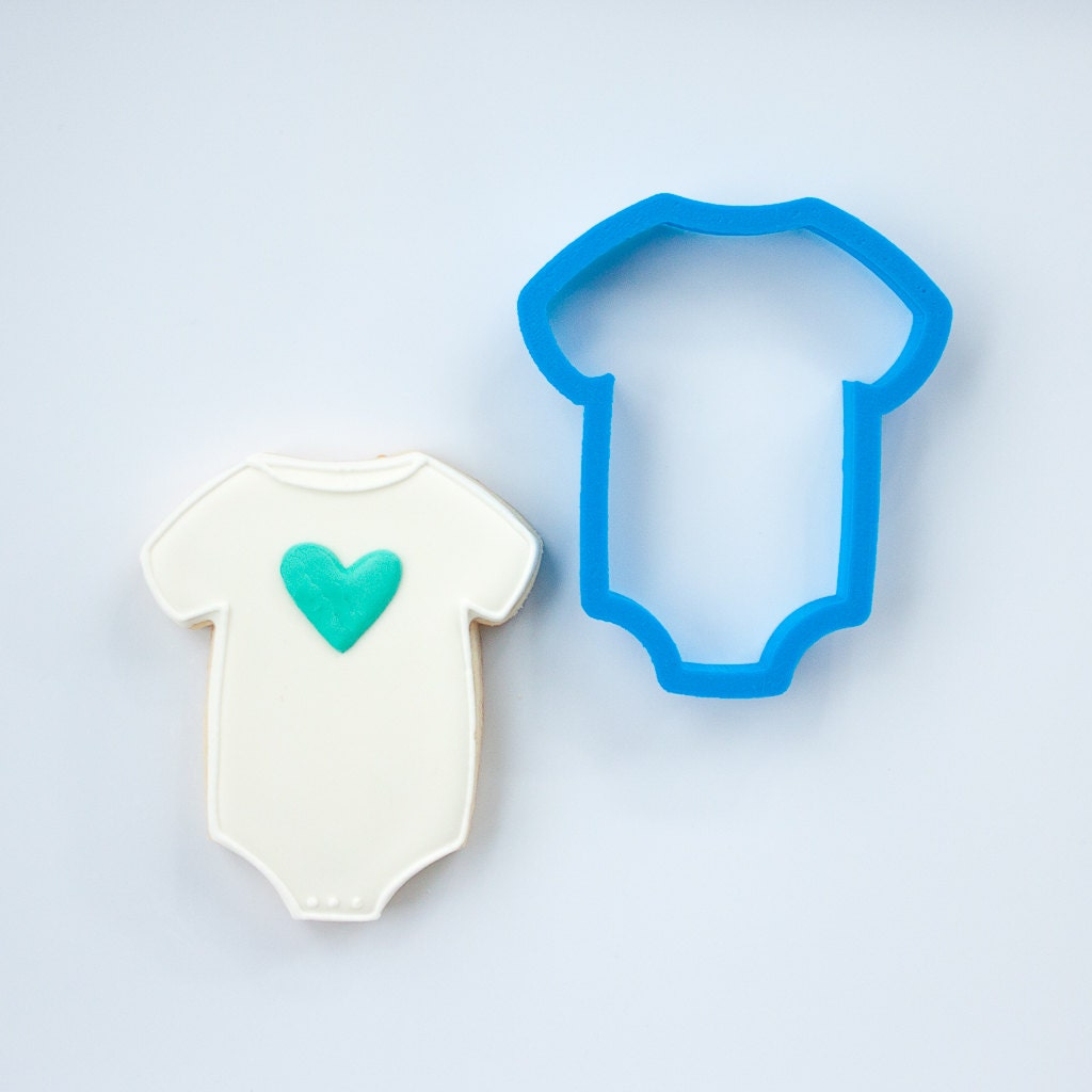 baby one piece cookie cutter baby shower cookie cutters