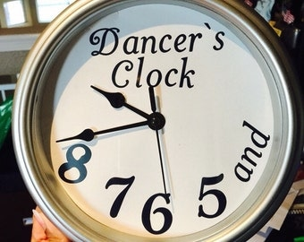 Dancer's Clock- Real Working!- and 5678