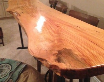 Live Edge Table, Pine