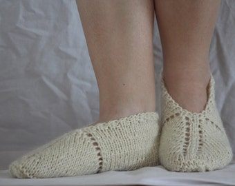 Azerbaijani wool slipper socks