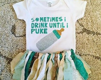 St. Patrick's Day Baby Girl outfit