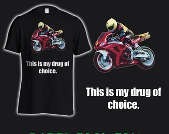 Super Cool Sports bike T Shirt,