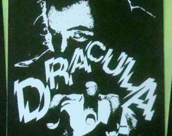 Dracula STICKER - vinyl - Not Universal Monsters Bela Lugosi version / Horror