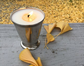 Mint Julep Cup Soy Candle