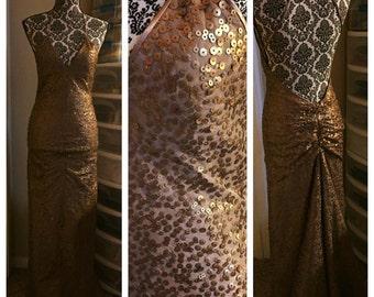 Bronze Bombshell Dress