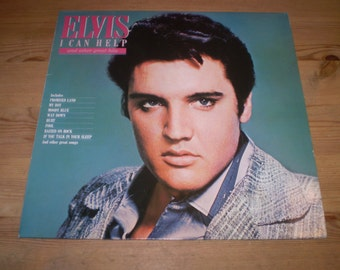 I Can Help Vinyl LP Album,Elvis Presley,Rock n Roll,PL89287,Near Mint condition