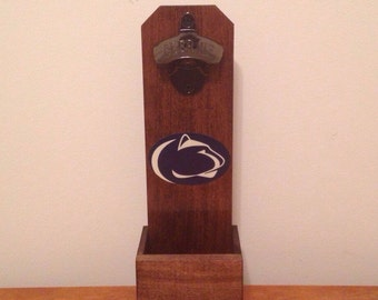 Wall Mounted Bottle Opener - Penn State Nittany Lions