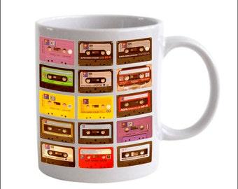 Mixtape Cassette Tapes Coffee Mug