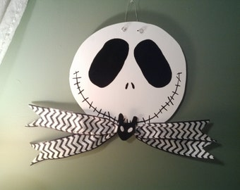 Jack Skellington Door Hanger
