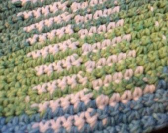 100% cotton crochet wash cloth