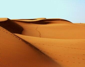 Desert Digital Photo - Desert Photography - Sandy Desert - Sandy Dunes - Digital Photo - Digital Download - Instant Download - Home Decor