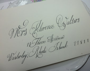 Florence envelopes