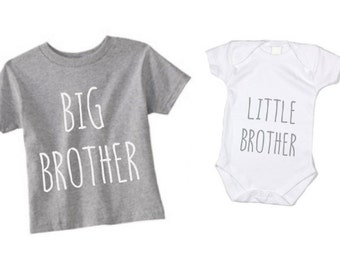 Big Brother Little Brother Shirt set