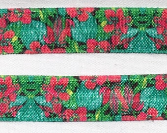 Lilly inspired custom 5 8 fold over elastic rose by for Lilly d s craft supplies