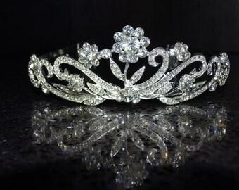 Bridal Tiara Wedding Tiara Bridal Crown Wedding Crown Wedding Headpiece Bachelorette Tiara Bridal Headband Tiara Headband Princess Tiara