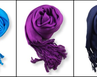 On the Fringe Viscose Scarf Hijab with Fringe Edges
