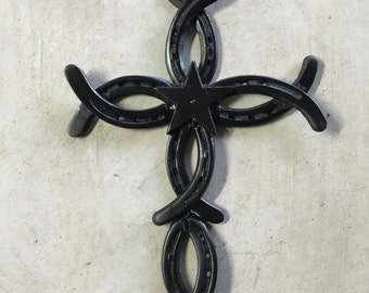 Christian Fish Cross with Southern Accent