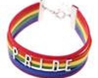 Gay Pride Bracelet