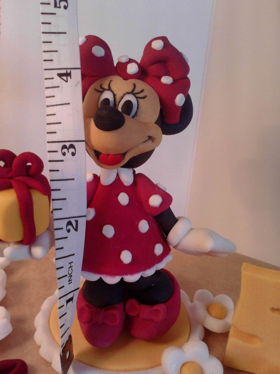 how to make a 3d minnie mouse cake topper