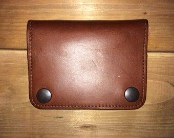 Brown Genuine Leather Wallet - Made in Canada