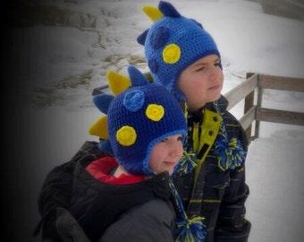 Crochet Dinosaur Beanie