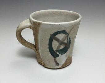 Stoneware woodfired coffee mug